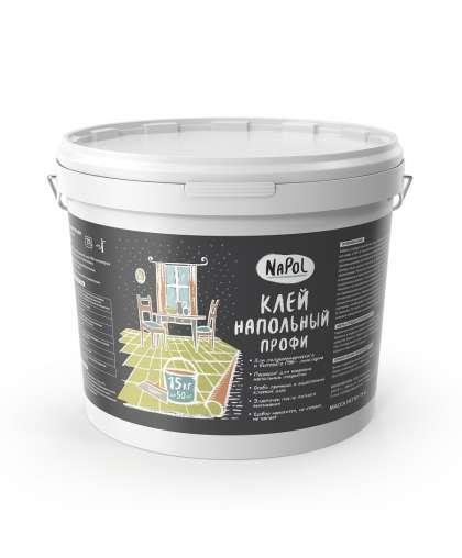 Клей Goldbastik напольный профи NaPol 15 кг