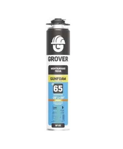 Пена монтажная Grover GF65 профессиональная зимняя 750 мл