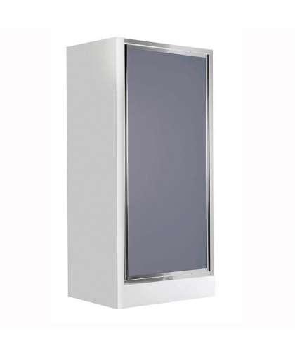 Двери для душа Flex KTL 411D 90*185 см графитовое стекло, Deante
