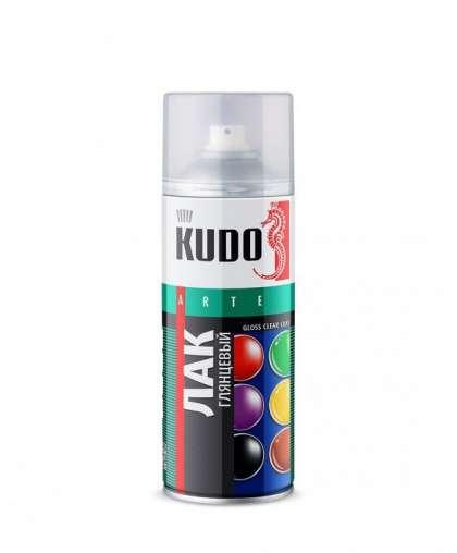 Лак KUDO универс. акрил. глянцевый 520 мл KU-9002