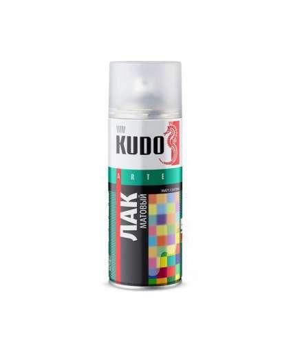 Лак KUDO универс. акрил. матовый 520 мл KU-9004