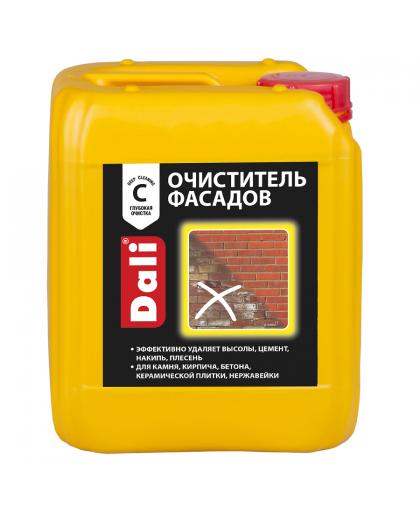 Очиститель фасадов от солевых загрязнений Dali 10 л