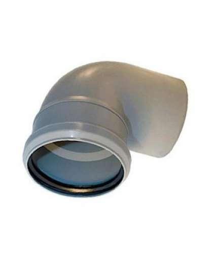 Отвод полипропиленовый для внутренней канализации 87 градусов 32 мм, Ostendorf