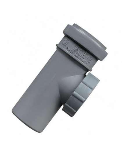 Ревизия полипропиленовая для внутренней канализации 50 мм, Sanibud
