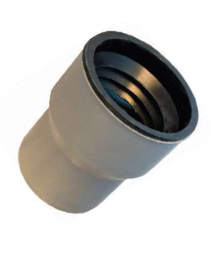 Муфта переходная на чугун для внутренней канализации 124*110 мм, РосТурПласт