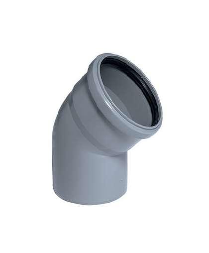 Отвод полипропиленовый для  внутренней канализации 45 градусов 40 мм, Ostendorf