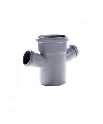 Крестовина для внутренней канализации 45 градусов 110/50/50 мм РосТурПласт