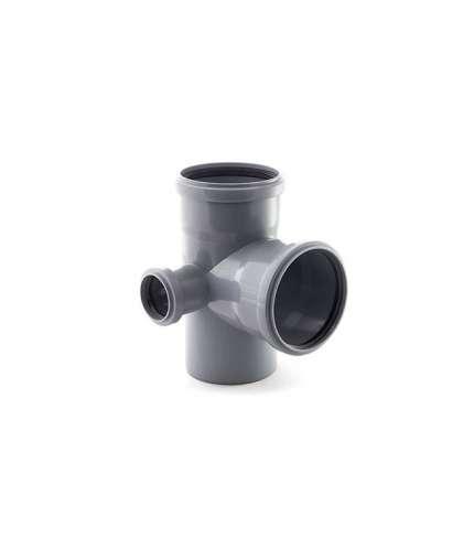 Крестовина для внутренней канализации РосТурПласт 110/110/50*87 мм