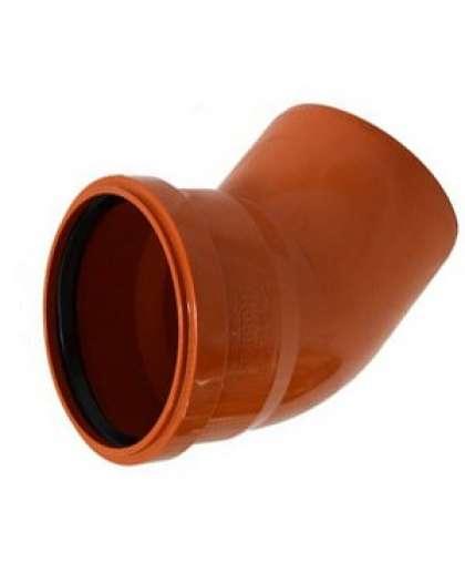 Отвод ПВХ для наружной канализации 45 градусов 200 мм, Ostendorf