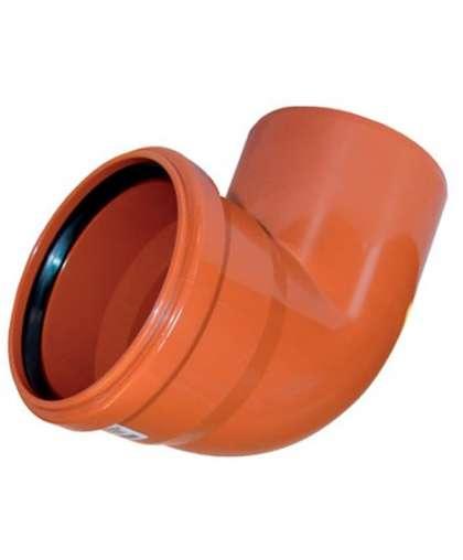 Отвод ПВХ для наружной канализации 87 градусов 160 мм, Ostendorf