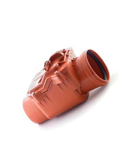 Клапан обратный для наружной канализации 110 мм, РосТурПласт