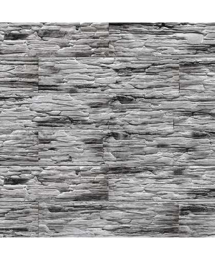 Плита гипс.дек.Сланец саянский Антрацит 0109 (0,6м2)