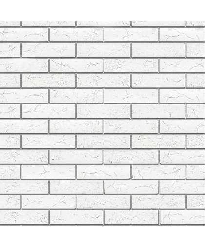 Плита гипсовая Декам Кирпич Оксфорд белый ПГД-1-Л 1500