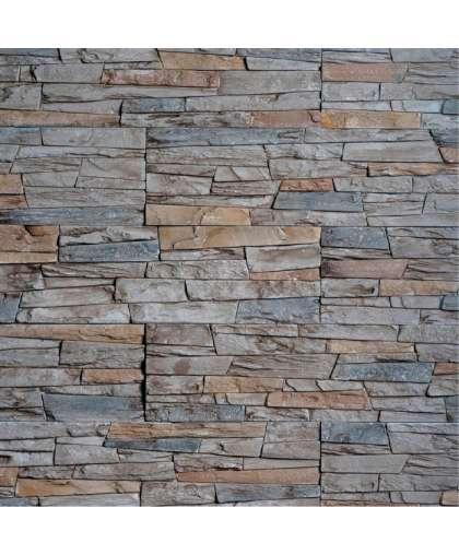 Плита гипсовая Stone Mill Сланец Каспровый антрацит ПГД-1-Л 2509