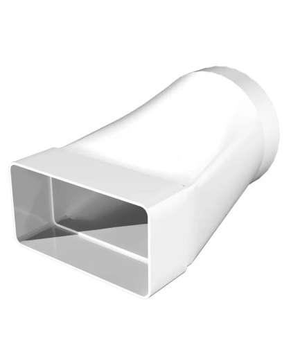 Соединитель каналов 620СП12,5КП D125 мм 60*204 мм, Эра