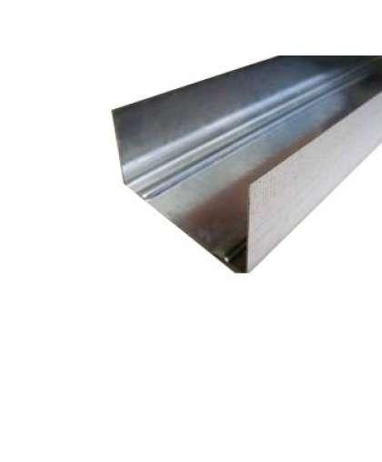 Профиль Стальнофф направляющий для гипсокартона 75*40*0.4 мм
