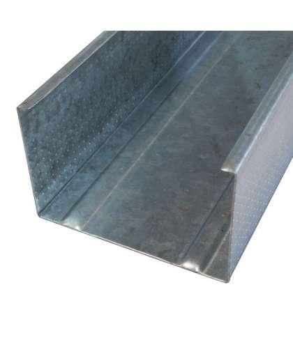Профиль Стальнофф стоечный для гипсокартона 75*50-0.4 мм 3 м