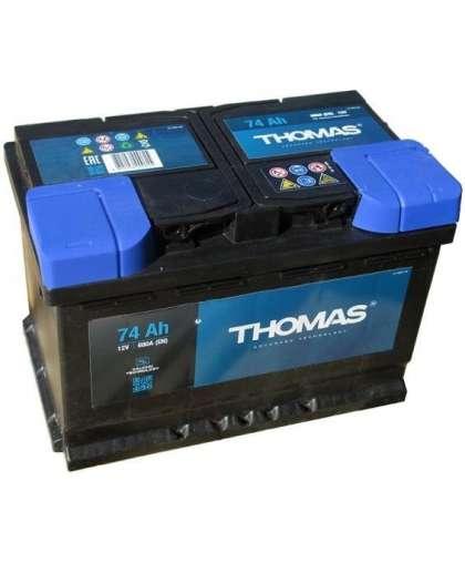Автомобильный аккумулятор Thomas +R 74Ah-574104068-627203