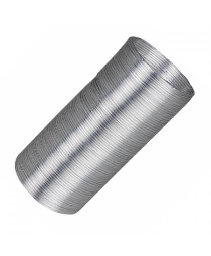 Воздуховод алюминиевый гофрированный 11ВА 110 мм 2.5 м, Эра