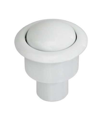 Кнопка нажимная И-СБ1-Б-КМ белая, ИнкоЭр