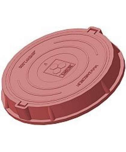 Люк легкий А30 (30 кН) красный