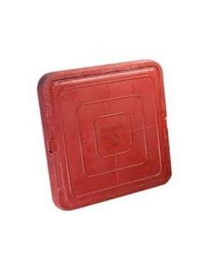 Люк квадратный садовый малый (красный) 3522511 3522511