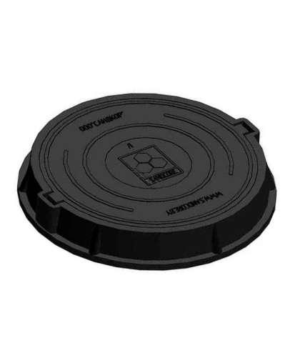 Люк средний В60 (60 кН) черный