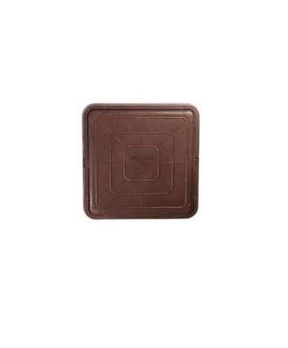 Люк Standartpark Л7 665*665*60 мм полимерно-композитный квадратный коричневый