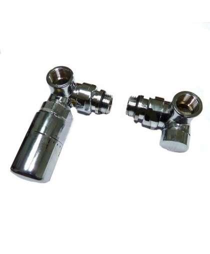 Угловое соединение V1103 V744 (терморегулятор и запорный кран)