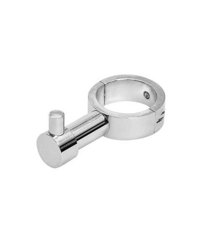 Вешалка-крючок с разъемным кольцом Luxon ВКР 02 для полотенцесушителя круглого профиля