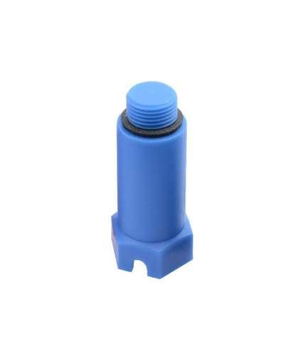 Заглушка монтажная Полипласт-М 1/2 синяя