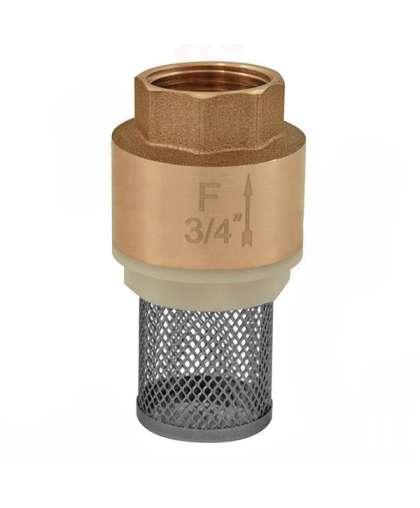 Возвратный клапан со всасывающей сеткой G1/2 арт.K20