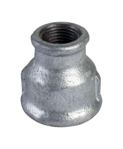 Муфта переходная оцинкованная Ду 50х20 мм (2