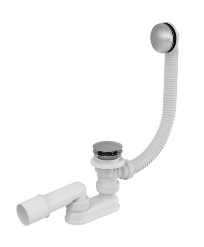 Сифон для ванны click-clack A504KM, Alcaplast