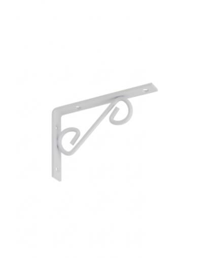 Кронштейн декоративный прямой Domax WOP 150 150*100 мм белый