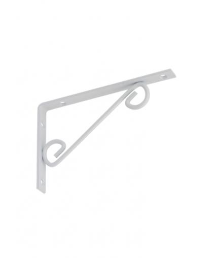 Кронштейн декоративный прямой Domax WOP 200 200*125 мм белый