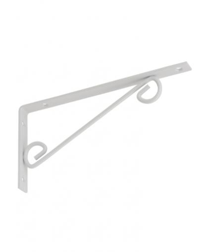 Кронштейн декоративный прямой Domax WOP 250 250*125 мм белый