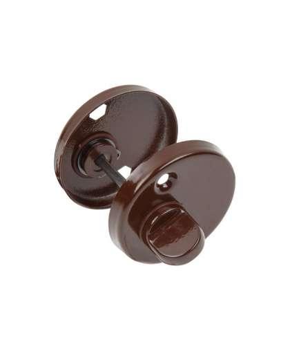 Накладка дверная Lenox на цилиндр WC коричневая