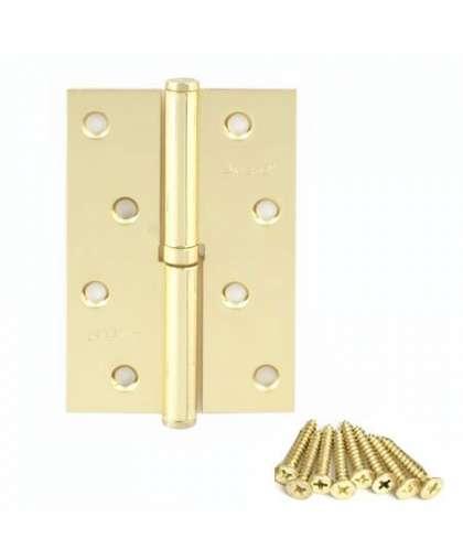 Петля Avers 100*70*2.5-B-G-L левая золото