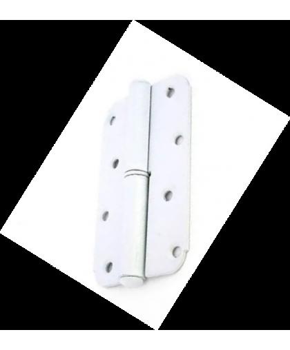 Петля накладная Тифлос ПН 1-110 левая белая