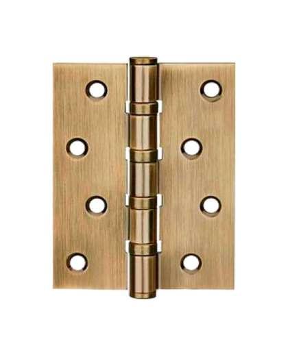 Петля дверная врезная левая LOCKIT 100*75х2,5 MS4030-1BB (AB)