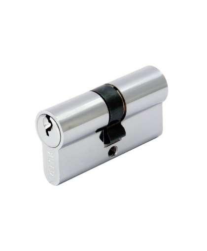 Цилиндровый механизм 6К CP хром 90 мм, Аллюр