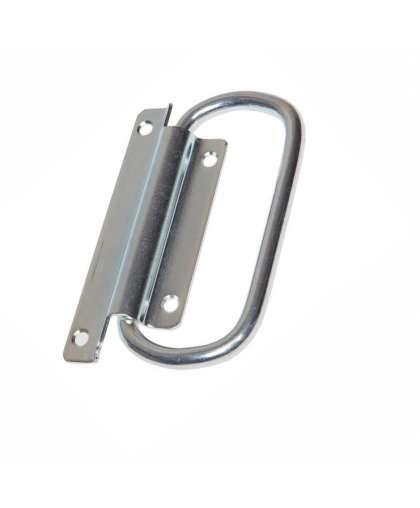 Ручка откидная, белый цинк. STARFIX SMP-55696-1