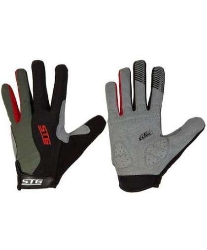 Велоперчатки STG Х87906-М с длинными пальцами