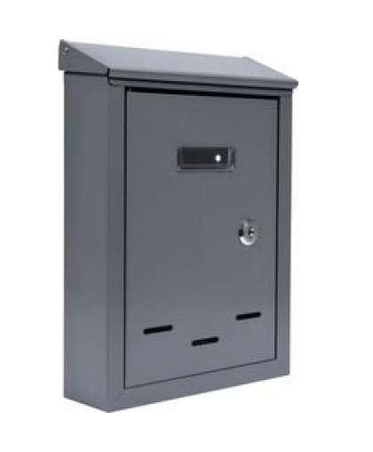 Ящик почтовый Vorel 78541 28.5*20*6 см серый