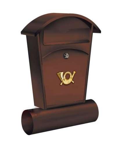 Ящик почтовый Vorel 78592 48*28*8 см коричневый