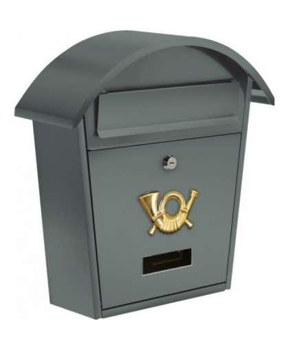 Ящик почтовый Vorel 78586 38*32*10.5 мм серый