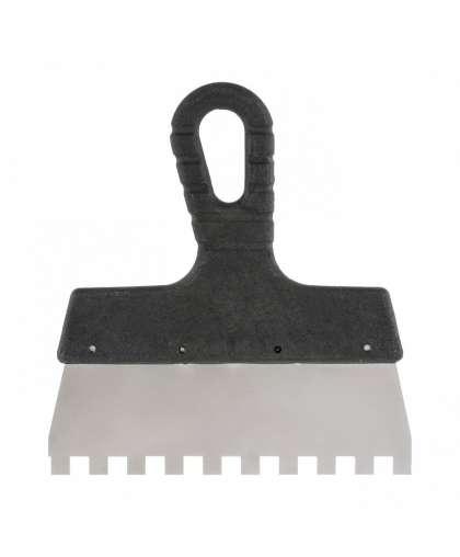 Шпатель для клея 150 мм зубчатый