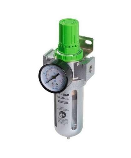 Фильтр воздушный ECO AU-01-14 с регулятором давления 1/4