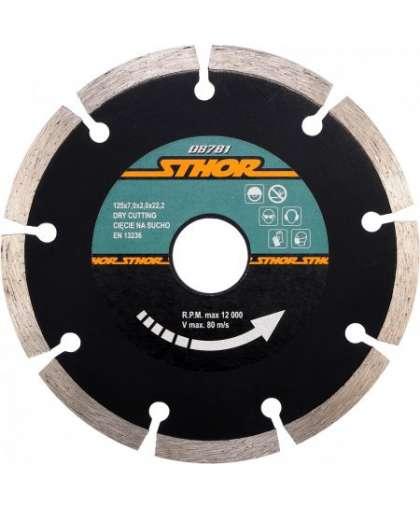 Алмазный круг Sthor 125*22,2 мм 08781
